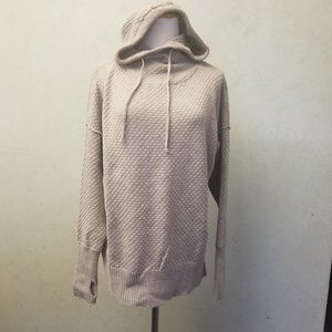 Cynthia Rowley Active Wear hooded sweater (Q20)